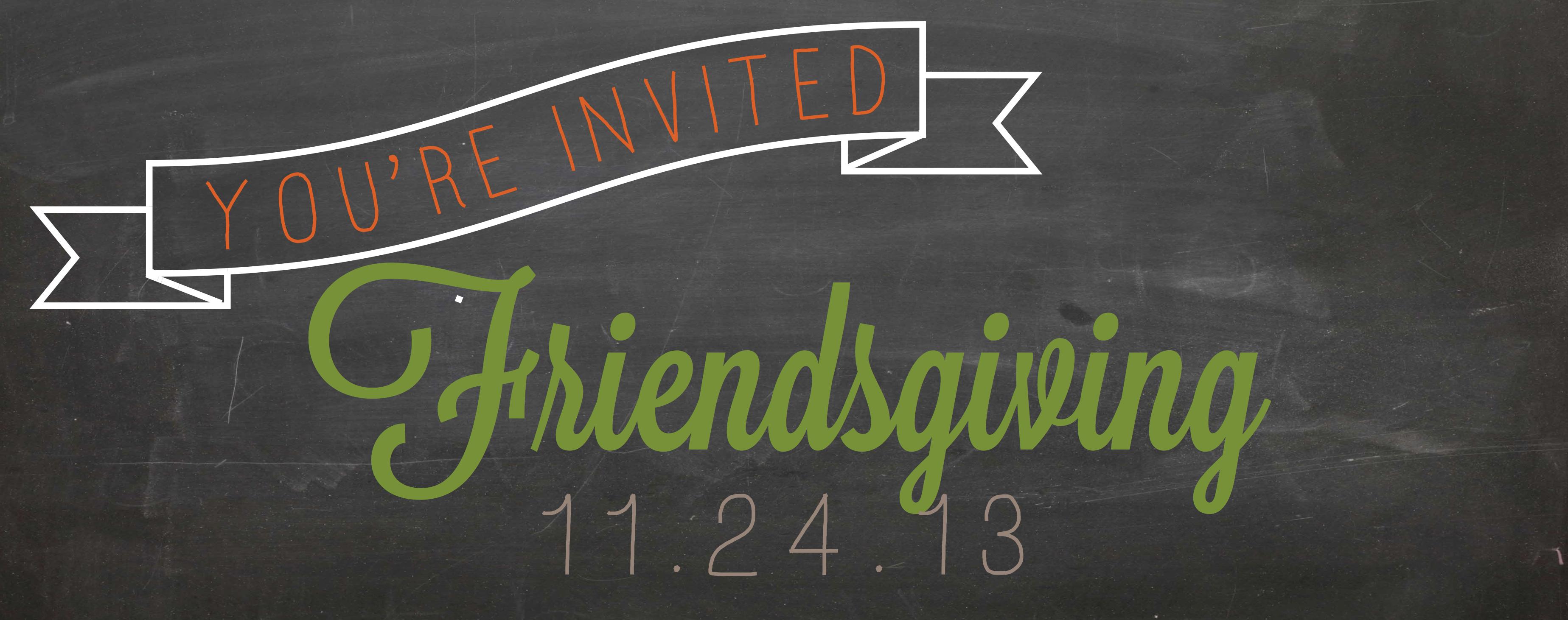 Friendsgiving Invitation with best invitations template